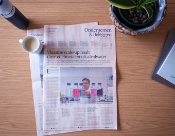 Article Inopsys in De Tijd